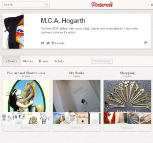 M.C.A. Hogarth on Pinterest
